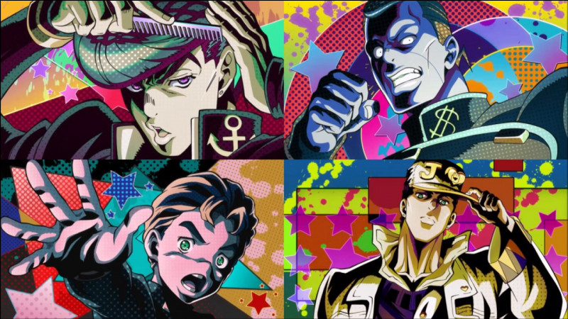 Comment s'intitule le premier opening de Diamond is Unbreakable ?