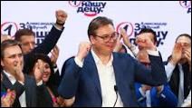 Depuis quand le président, Aleksandar Vučić, est-il en place dans le pays ?