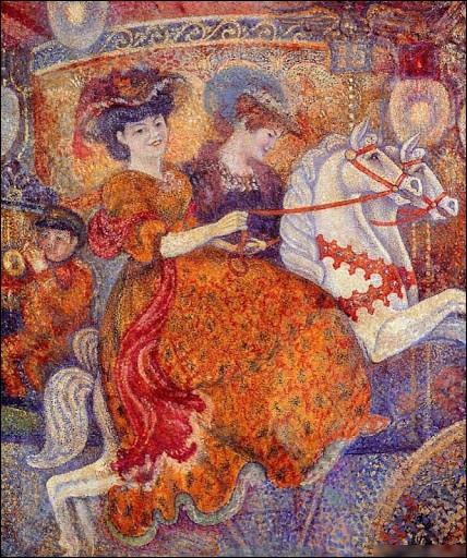 """""""Le Carrousel"""" est un tableau de quel peintre belge ?"""