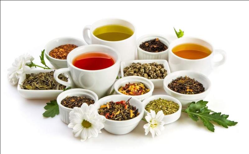 Quel type de thé n'existe pas ?