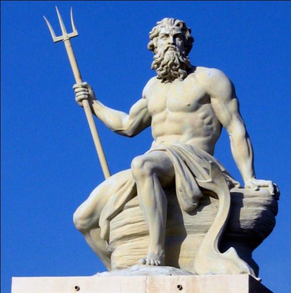 Tri comme trident : quel dieu grec avait pour attribut un trident ?