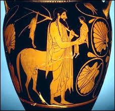 Comment s'appelle le centaure qu'Artémis a croisé ?