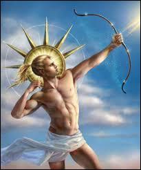 Apollon, le frère d'Artémis, c'est le dieu...