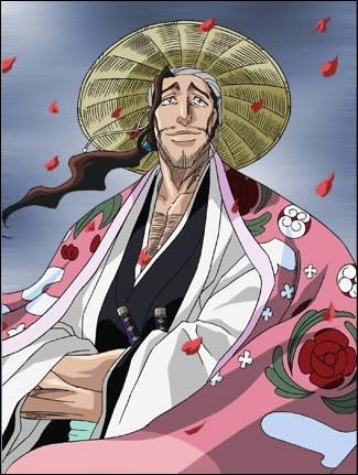 Que dit Shunsui pour libérer son katana ?