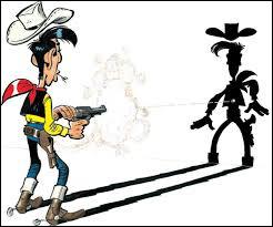 Quelle est la particularité de Lucky Luke ?