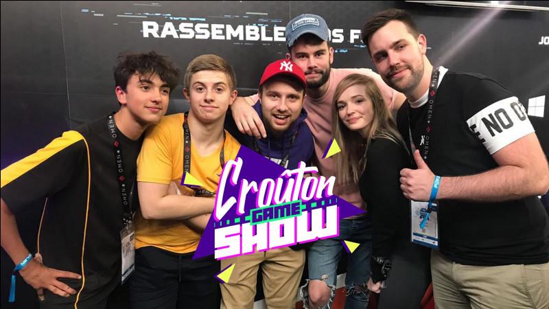 Qui est le youtubeur avec le moins d'abonnés dans la Team Croûton ?