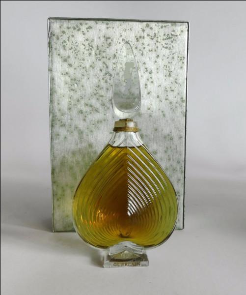 Quel est ce parfum féminin, créé en 1969 par Jean-Paul Guerlain, aux notes fleuries où se mêlent jasmin, jacinthe, bergamote et rose, et qui a dû faire battre le cœur de bien des hommes ?
