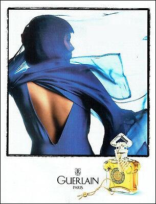 C'est également un parfum mythique créé par Jacques Guerlain en 1912, où l'odeur de la bergamote en note de tête épouse celles de l'œillet et du néroli, sur un fond oriental d'Iris et de vanille :