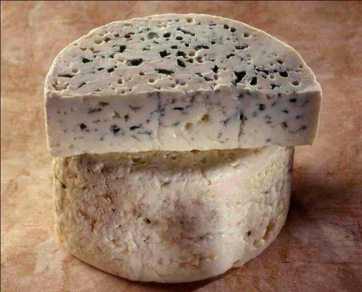 Quel est ce fromage persillé, élaboré exclusivement avec des laits crus de brebis, fabriqué en Occitanie ?
