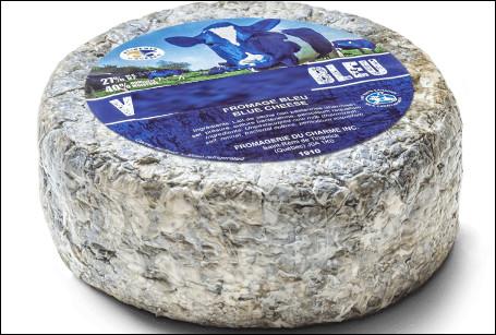Quel est ce fromage persillé québécois à base de lait de vache thermisé ?