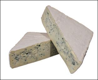 Quel est ce fromage persillé au lait pasteurisé de vache, fabriqué dans le Cantal ?