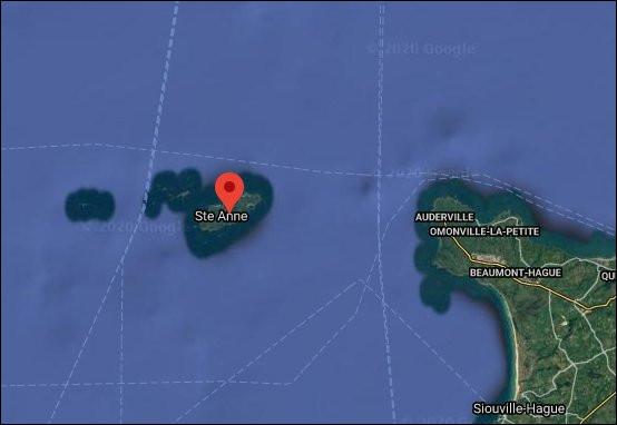 Le 7 janvier 1700 > Un phénomène particulier s'est produit du côté de l'Île d'Aurigny, au large du nez de Voidries (50) : lequel ?