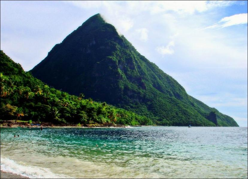 Ile des Antilles sur cette photo, membre du Commonwealth je suis...