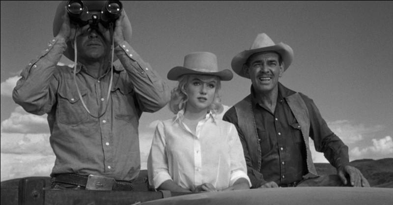 """""""Les Désaxés"""" (The Misfits), film sorti en 1961, avec Clark Gable, Marilyn Monroe et Montgomery Clift, a été réalisé par ..."""