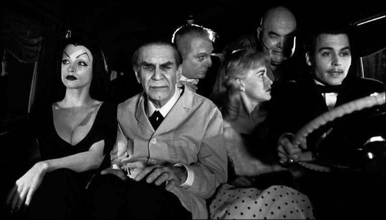Quel est ce film de Tim Burton, réalisé en 1994, avec Johnny Depp et Sarah Jessica Parker dans les rôles principaux, qui raconte la vie d'un cinéaste qui réalisa dans les années 50 quelques mauvais films à petit budget ?