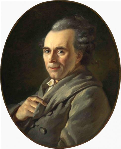 Michel-Jean Sedaine, très en vue dans années 1760, convié par Marie-Antoinette à Versailles en 1786, était un ...