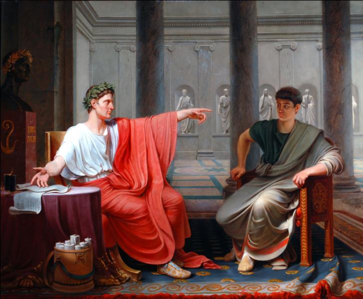 Qui est le premier empereur de Rome ?