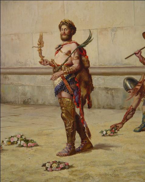 Un des pires empereurs de Rome (180-192), se prenant pour Hercule et entretenait une folle passion pour la gladiature. Qui est-il ?