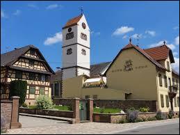 Ville du Grand-Est, dans le Kochersberg, Truchtersheim se situe dans le département ...