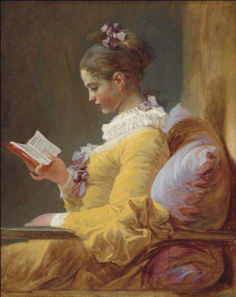 """Quel peintre français du XVIIIe est l'auteur du tableau """"La Liseuse"""" ?"""