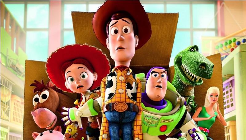 """Comment s'appelle le chien à ressort dans le film """"Toy Story"""" ?"""