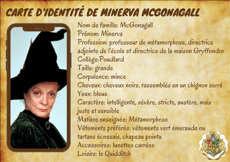 Durant le premier cours de métamorphose, le professeur McGonagall transforme son bureau en...