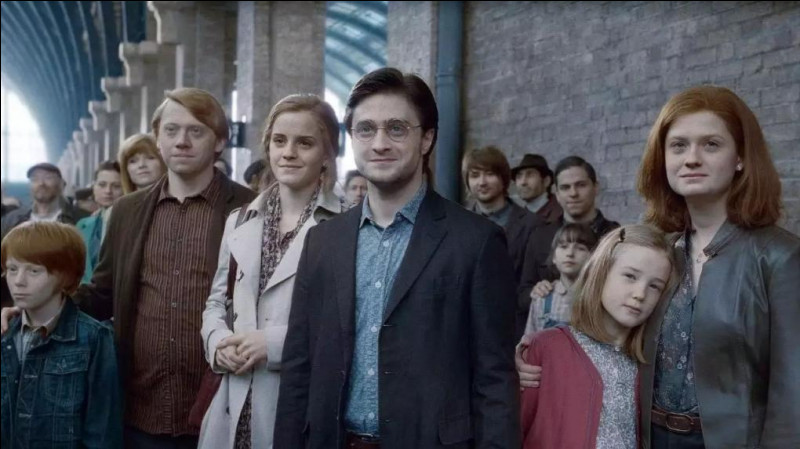 Quels sont les prénoms des enfants de Ron et Hermione ?