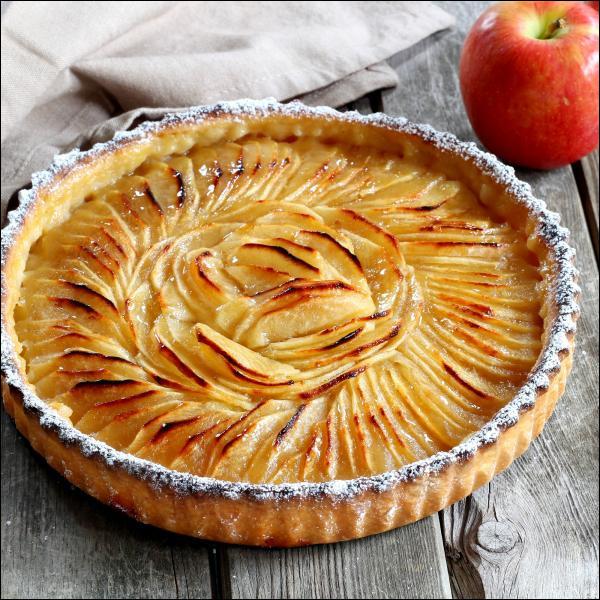 Quelle est la recette de la tarte aux pommes ?