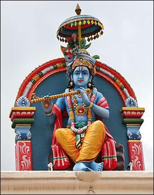 Qui est cette divinité de l'hindouisme qui représente la divinité suprême à l'origine de toutes les autres ?