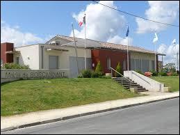 Commune néo-aquitaine, dans l'arrondissement de Jonzac, Boscamnant se situe dans le département ...