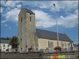 Voici l'église Saint-Barthélémy de Hardinvast. Commune normande, dans le Cotentin, elle se situe dans le département ...