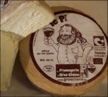 Quel est ce fromage belge au lait cru de vache lavé au vin blanc ?