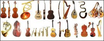 Joues-tu d'un instrument ?