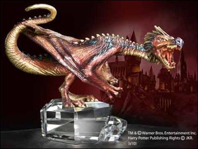 Pour la première tâche Krum a comme dragon un boutefeu...