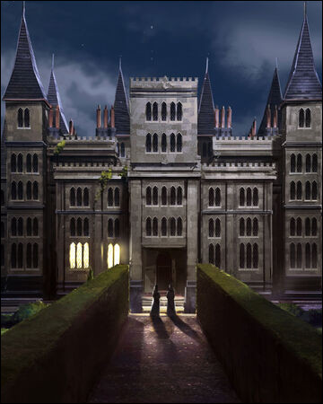 Voici une partie du manoir des Malefoy. Mais quel camarade Harry et Ron trouvent-ils enfermé dans les cachots ?