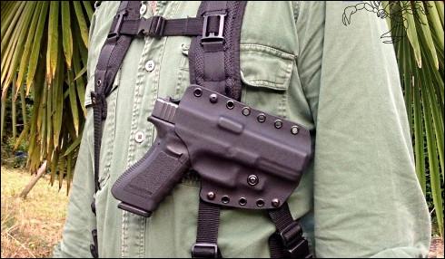 Comment se nomme l'étui utilisé pour porter un pistolet ?