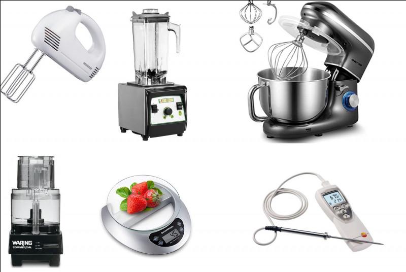 Parmi ces petits matériels de cuisine, qu'est le dernier ?