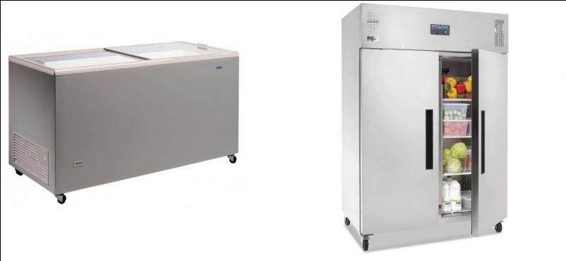 Lequel est un réfrigérateur ?