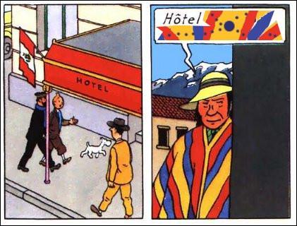 Toujours en vadrouille, Haddock et Tintin sont au Pérou [dans quelle ville portuaire ?] : surveillés par un mystérieux quechua, ils entrent à l'Hôtel .... Complétez !