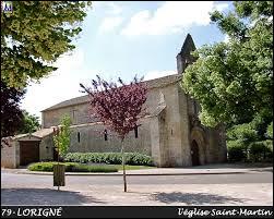 Commune Deux-Sévrienne, Lorigné se situe dans l'ex région ...