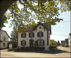 Village Bas-Rhinois, Riedselz se situe en région ...