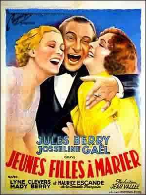 """Avant cela, le premier film français réalisé en couleur a été """"Jeunes filles à marier"""", sorti en 1935, avec Jules Berry et Maurice Escande. Qui l'a réalisé ?"""