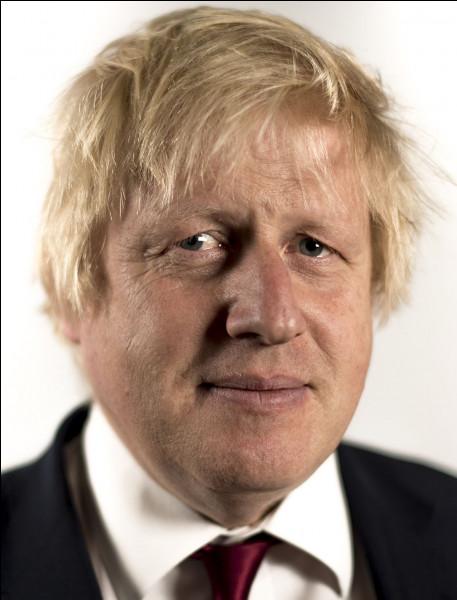 Qui est ce Boris, homme d'État britannique, Premier ministre du Royaume-Uni depuis juillet 2019, né le 19 juin 1964 à New York ?