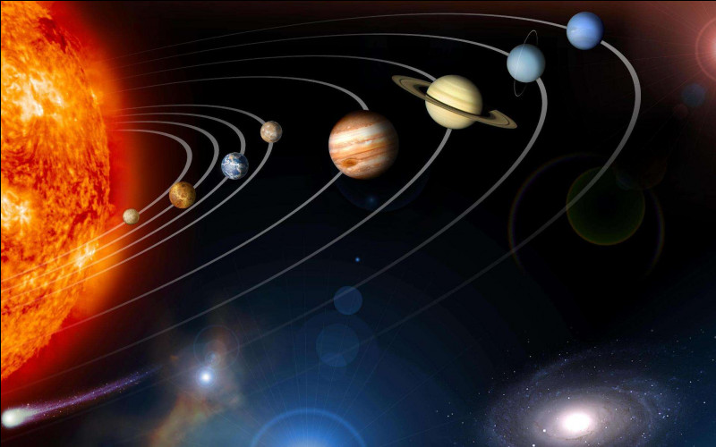 Dans notre Système solaire combien de planètes rocheuses gravitent autour du Soleil, en 2020 ?