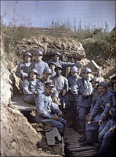 Quel était le surnom des soldats français, durant la Première Guerre mondiale ?