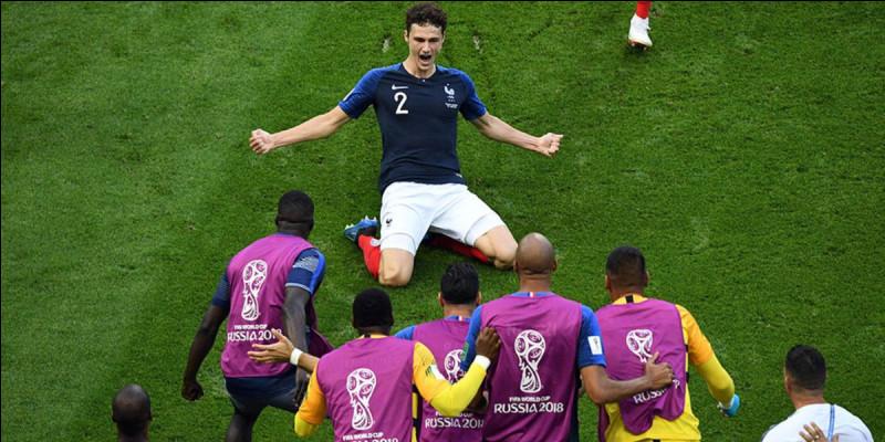 Quel joueur a fait la passe décisive sur le but légendaire de Benjamin Pavard face à l'Argentine en 8èmes de finale de la Coupe du monde 2018 ?