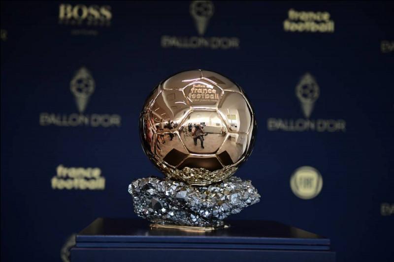 Combien de joueurs français ont remporté le Ballon d'or ?