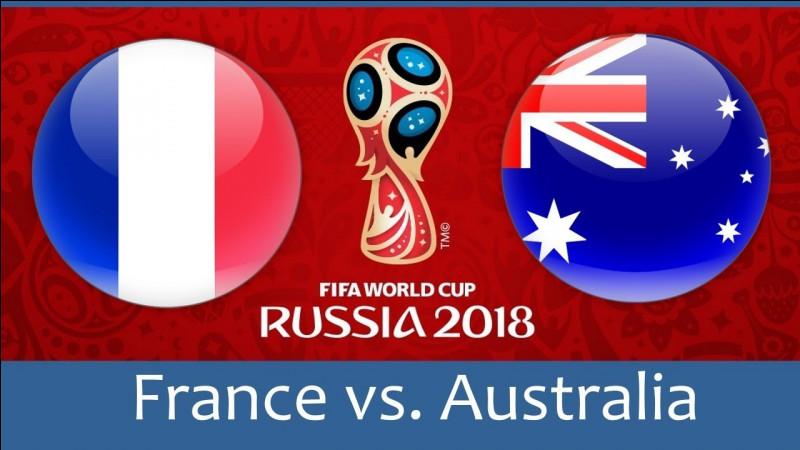 Qui est le premier buteur français de la Coupe du monde 2018 ?