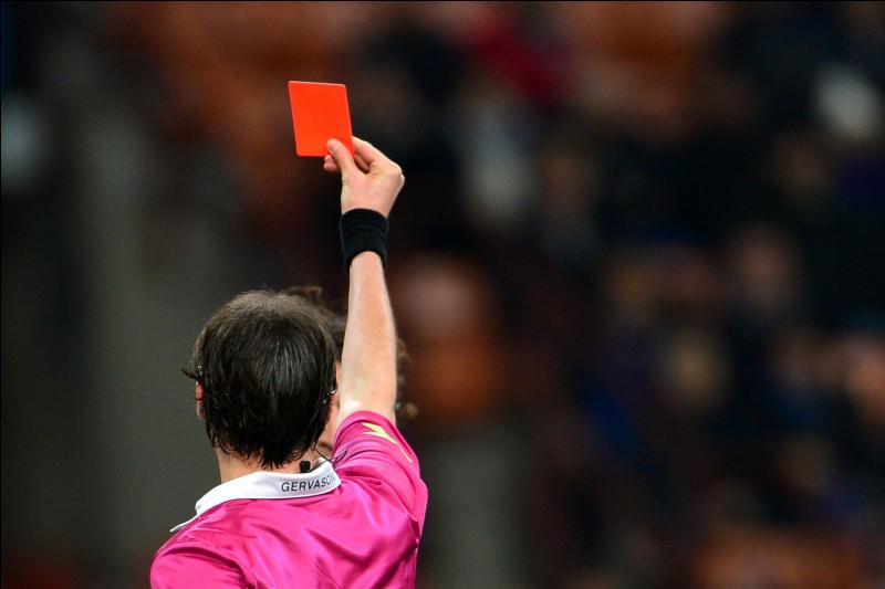 Quel joueur français a reçu un carton rouge en finale de la Coupe du monde 1998 ?