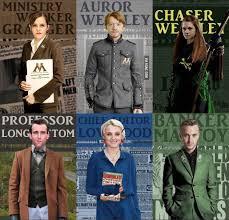 Les métiers dans Harry Potter